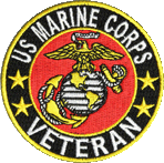 Marine Corps Veteran patch